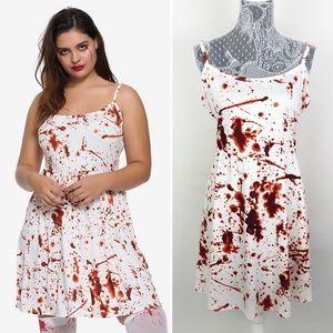 Hot Topic Blood Splatter Dress